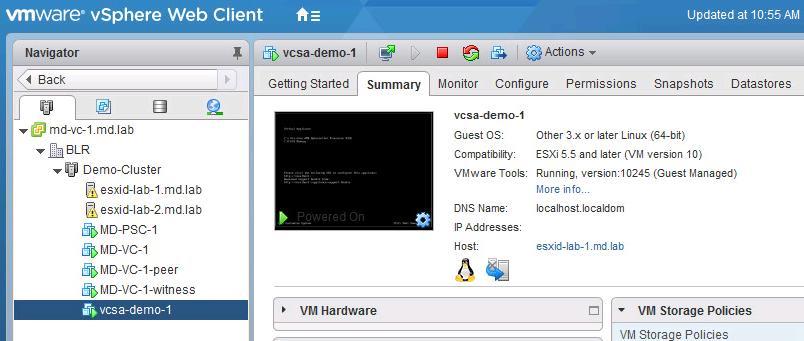 نحوه مهاجرت Vcenter ویندوز به Vcenter Appliance 6.5